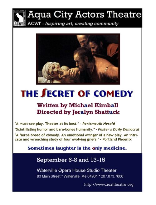 secret of Comedy Waterville