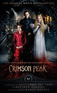 Crimson Peak novelization cvr